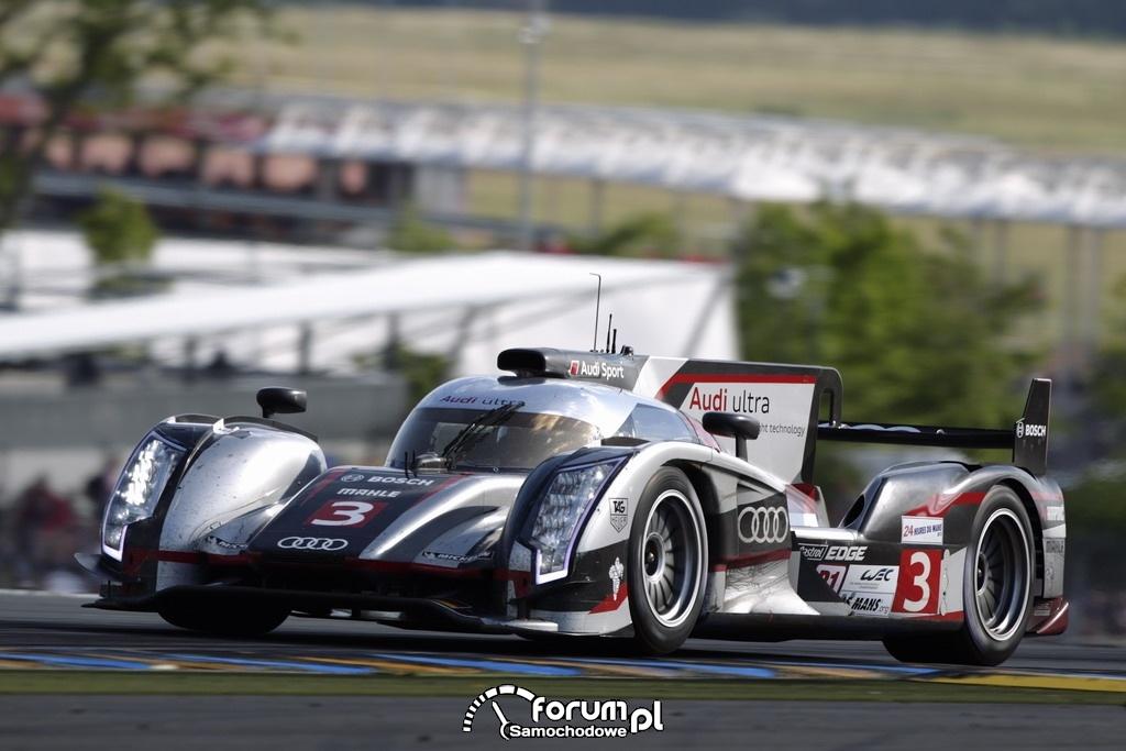 Audi R18 ultra, 24 godzinny wyścig Le Mans