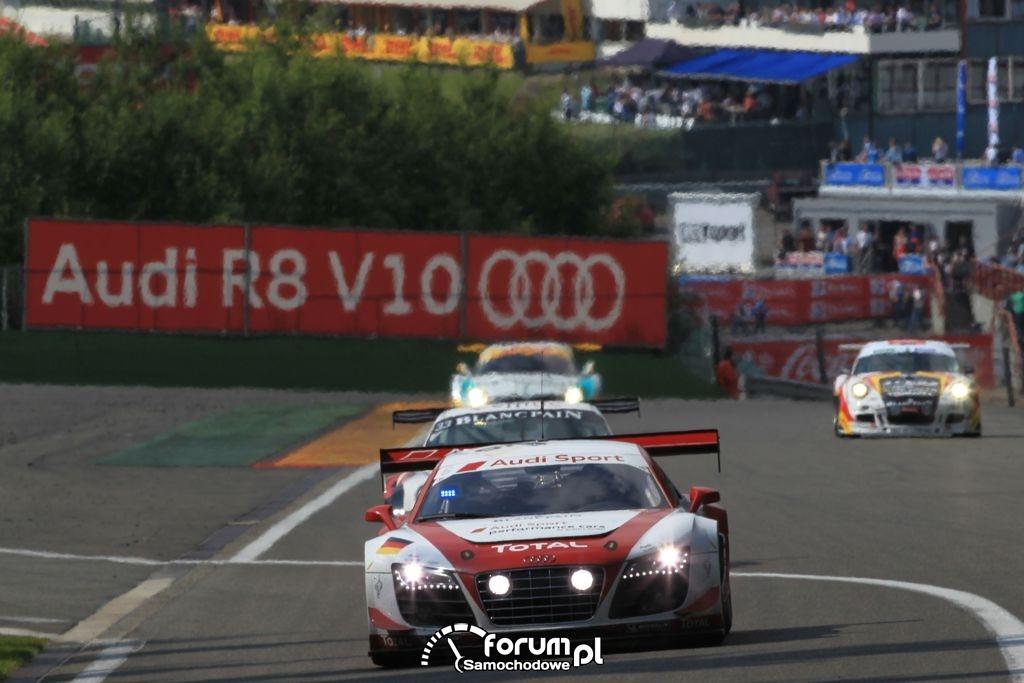 Audi R8 LMS ultra na torze w Spa, 5