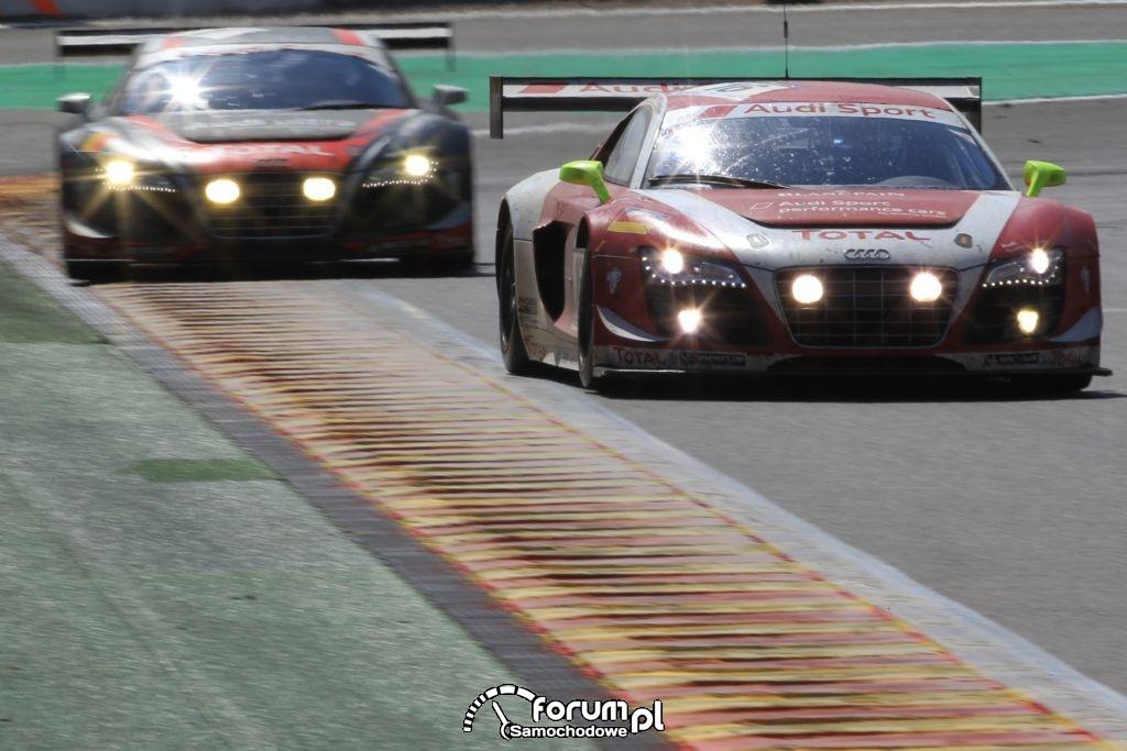 Audi R8 LMS ultra na torze w Spa, 7