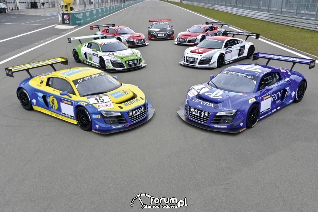 Audi rozpoczyna maraton wyścigów 24-godzinnych, 1