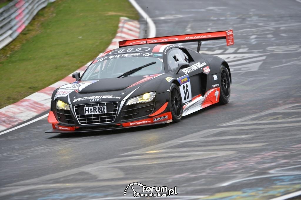 Audi rozpoczyna maraton wyścigów 24-godzinnych, 4
