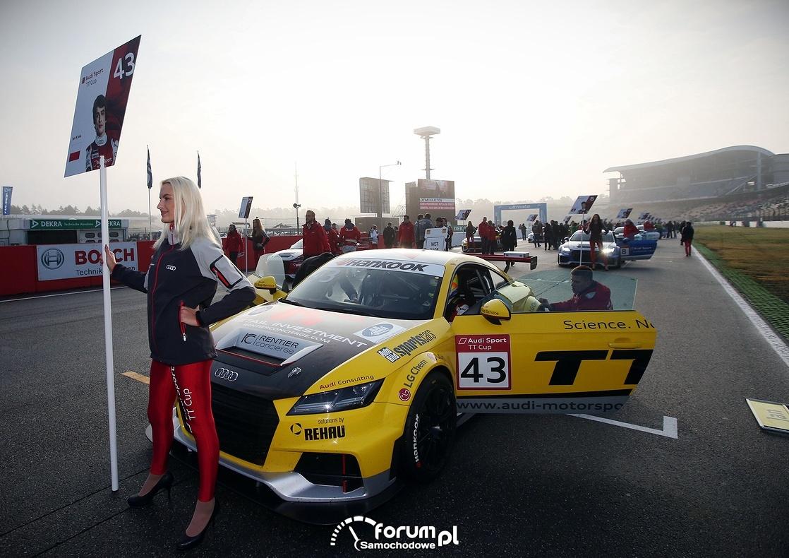 Audi Sport TT Cup na torze w Hockenheim przed startem