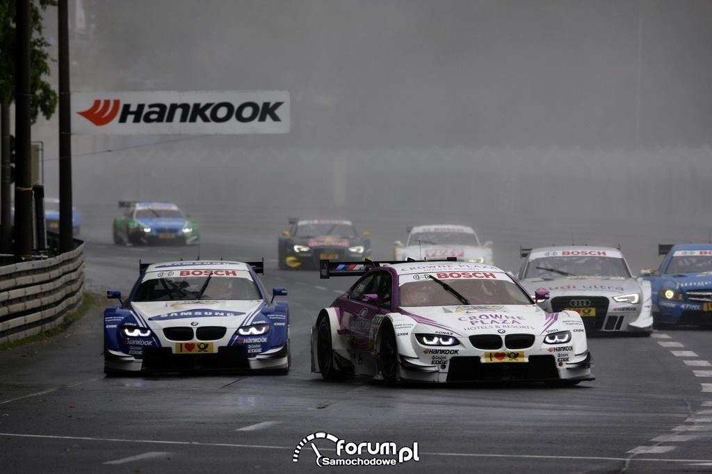 BMW, DTM na torze Norisring w Niemczech 2012