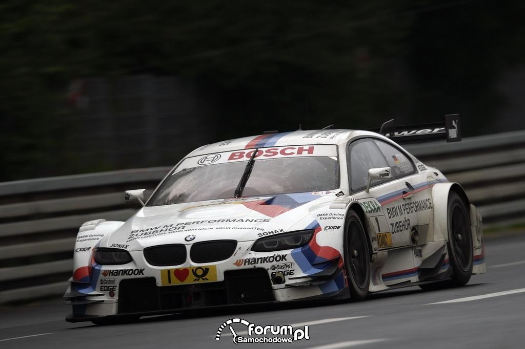 BMW M Performance Parts M3 DTM na torze Norisring w Niemczech 2012