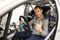 Chris Atkinson za kółkiem i20 WRC