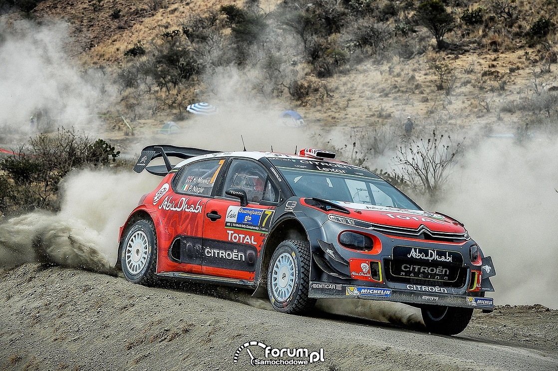 Citroën C3 WRC, Rajd Korsyki