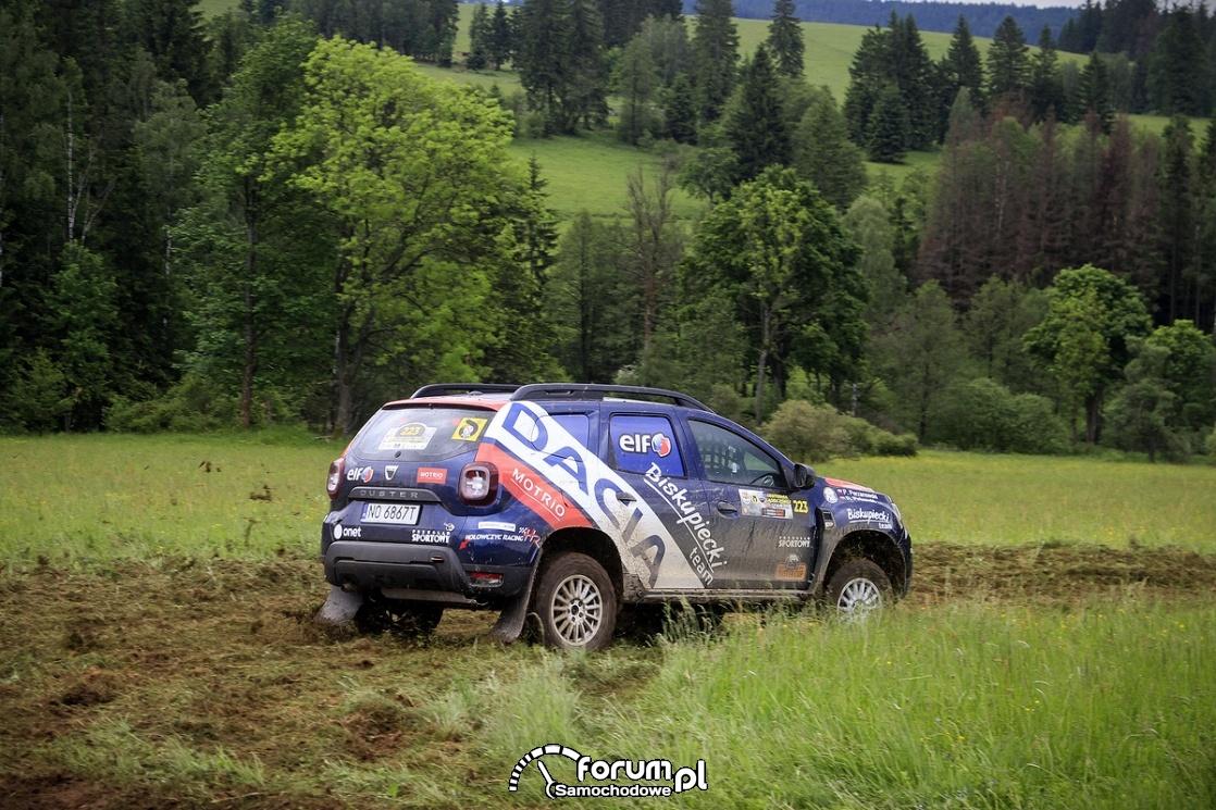 Dacia Duster Elf Cup, błoto, 2