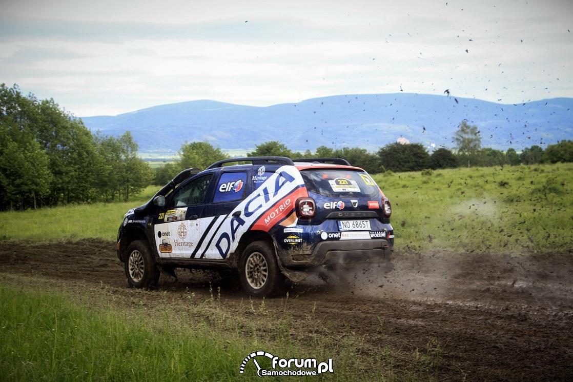 Dacia Duster Elf Cup, błoto
