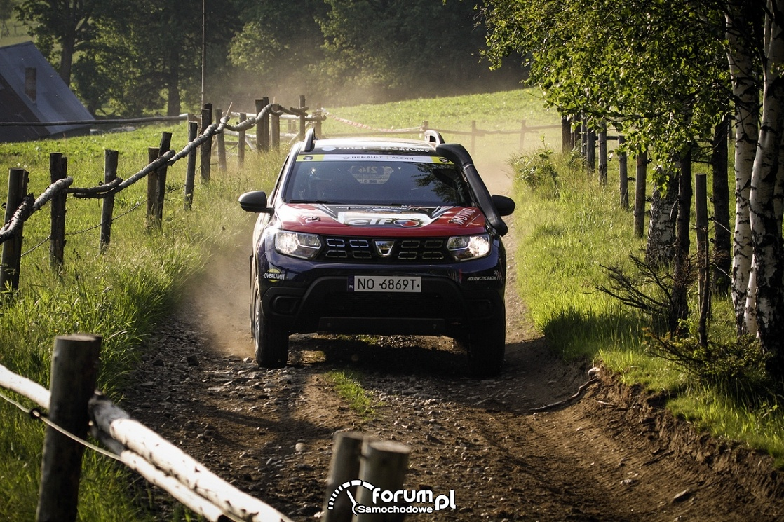Cross Country na Mazowszu - II runda Dacia Duster Elf Cup 2019