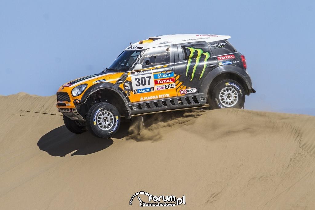 Dakar Argentina Bolivia Chile 2014, MINI