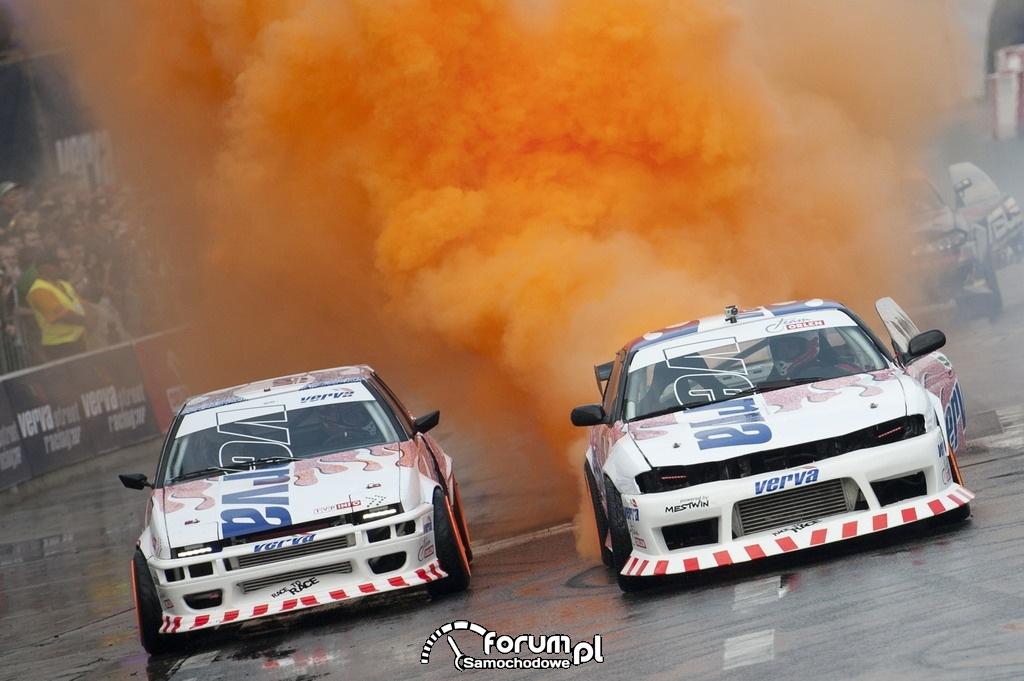 Drift na VERVA Street Racing