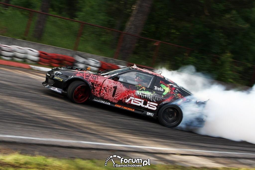 Drift, Pawel Trela na VERVA Street Racing