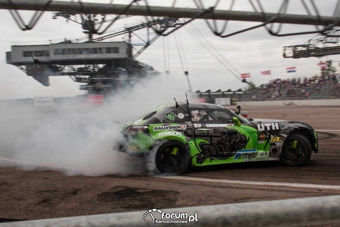 Drift, Trela, Opel GT