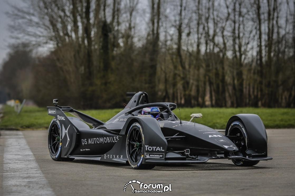 DS E-TENSE FE 19, Bolid Formuły E