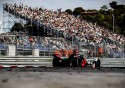 E-Prix w Monako - Formuła E, trybuny z ludźmi