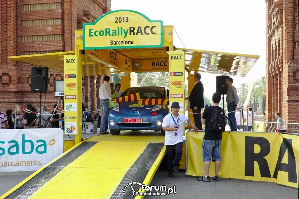 EcoRally RACC 2013, Barcelona