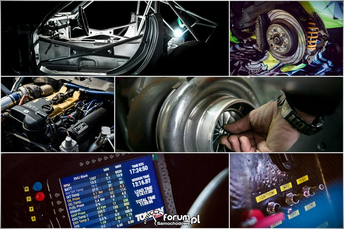 Jak zbudować profesjonalny samochód driftingowy?