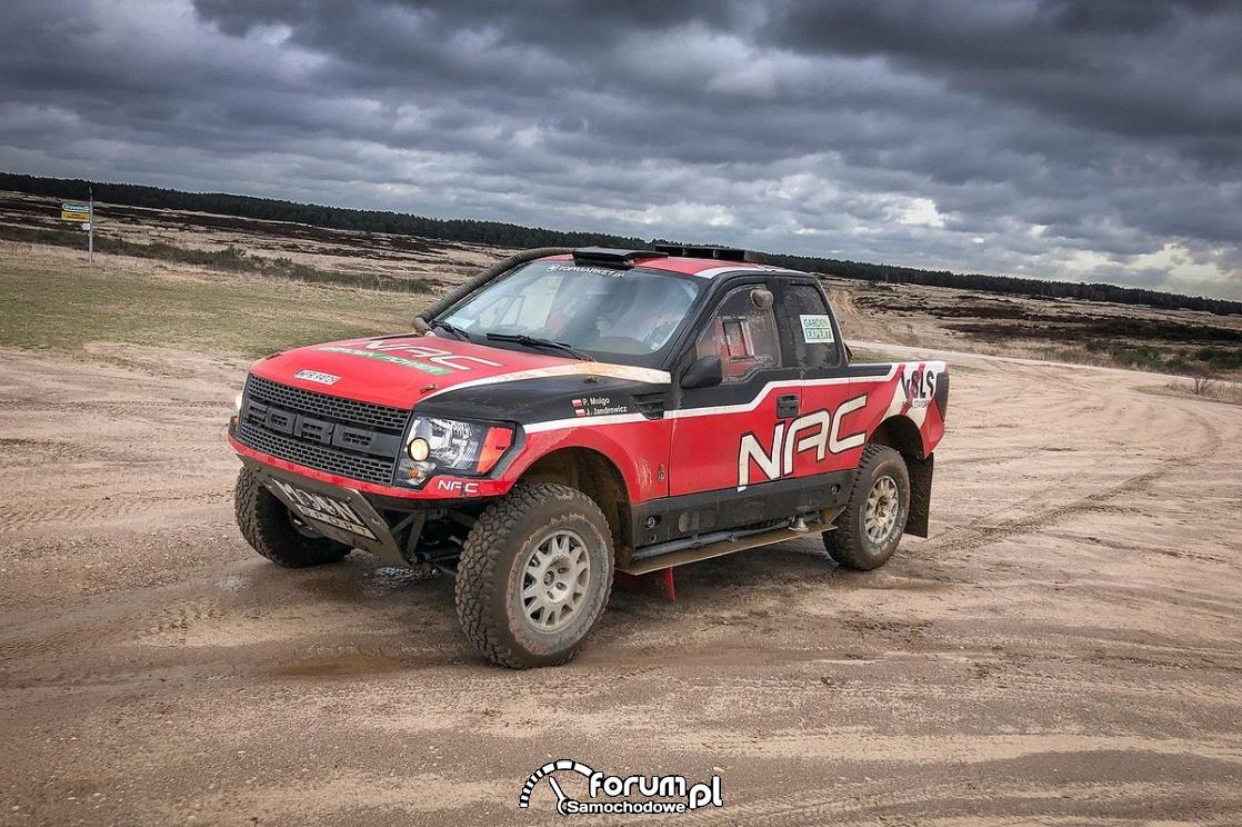Ford F-150 EVO, NAC Rally Team
