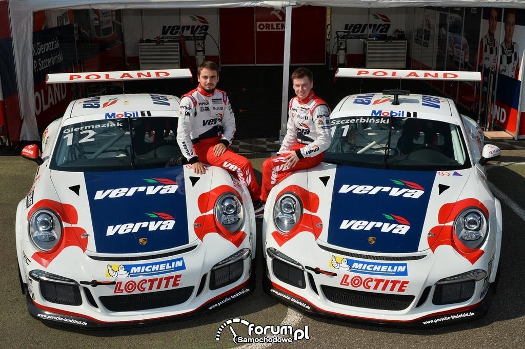 Giermaziak i Szczerbiński - VERVA Racing Team
