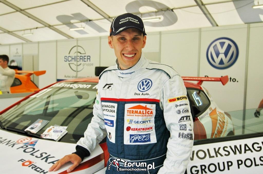 Gładysz - Puchar Scirocco R 2012 na torze Red Bull Ring w Spielbergu, 2