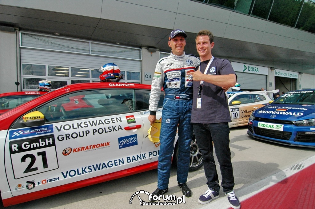 Gładysz - Puchar Scirocco R 2012 na torze Red Bull Ring w Spielbergu