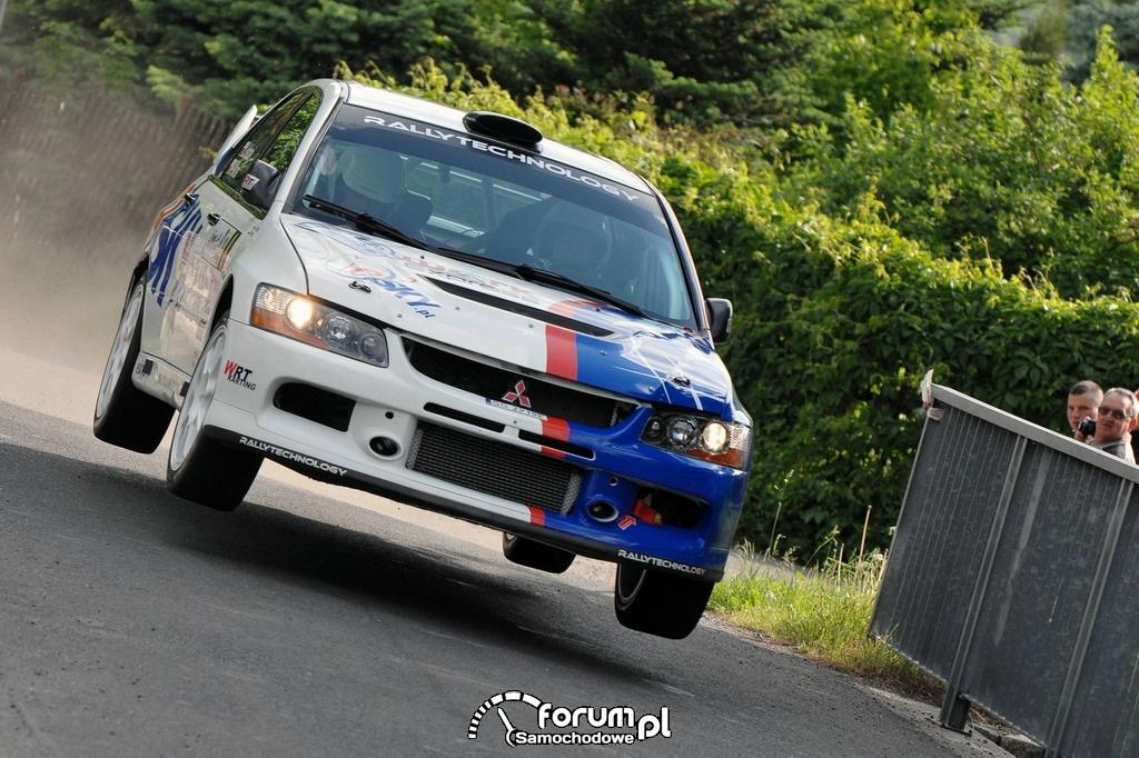 Habaj, Mitsubishi Lancer Evo IX, Rajd Karkonoski 2012, 2