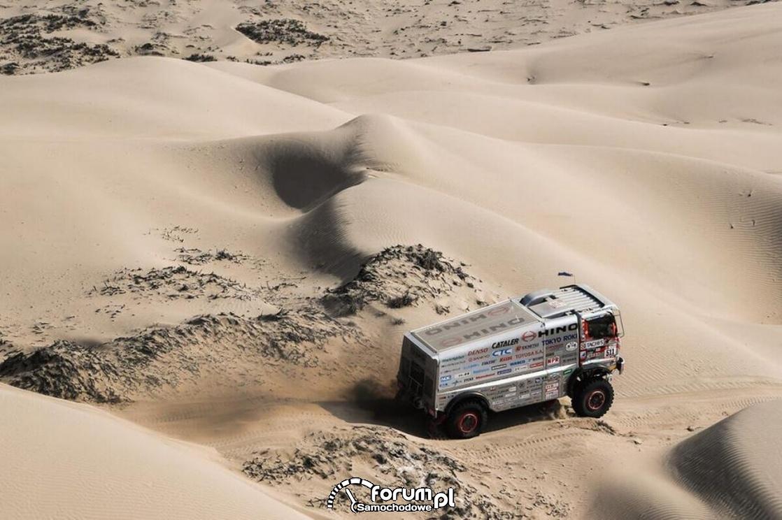 Hino team Sugawara, Rajd Dakar 2018 rok