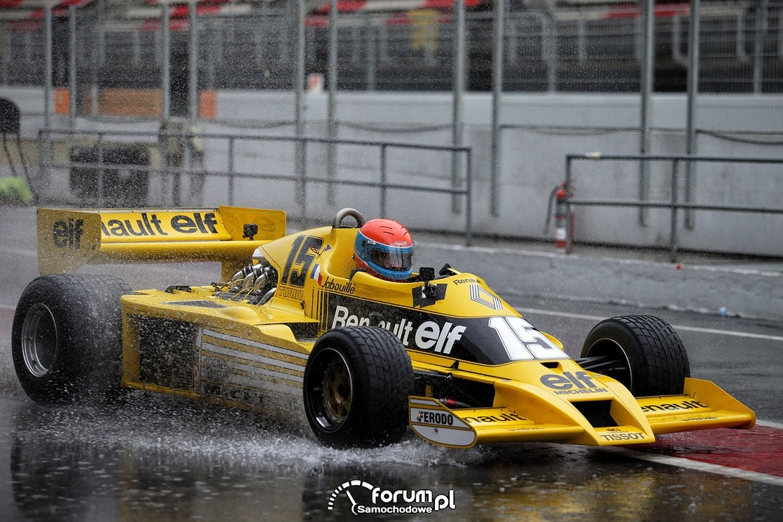 JeanPierre JABOUILLE, Formuła 1, Renault