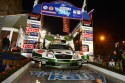 Juho Hänninen i Mikko Markkula - SKODA Motorsport, Fabia Super 2000, Geko Ypres Rally