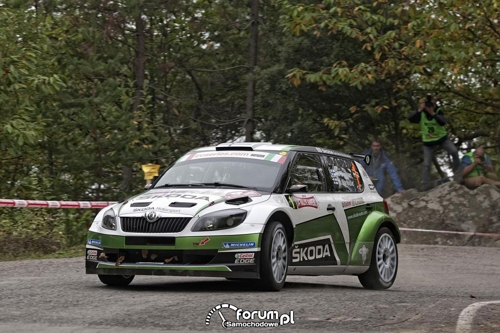 Juho Hänninen i Mikko Markkula, Skoda Motorsport