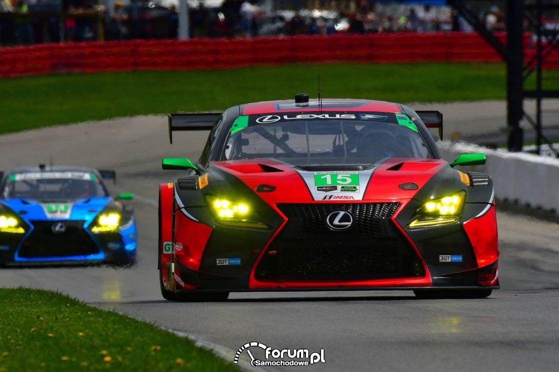 Lexus RC F GT3 triumfuje na torze w Ohio