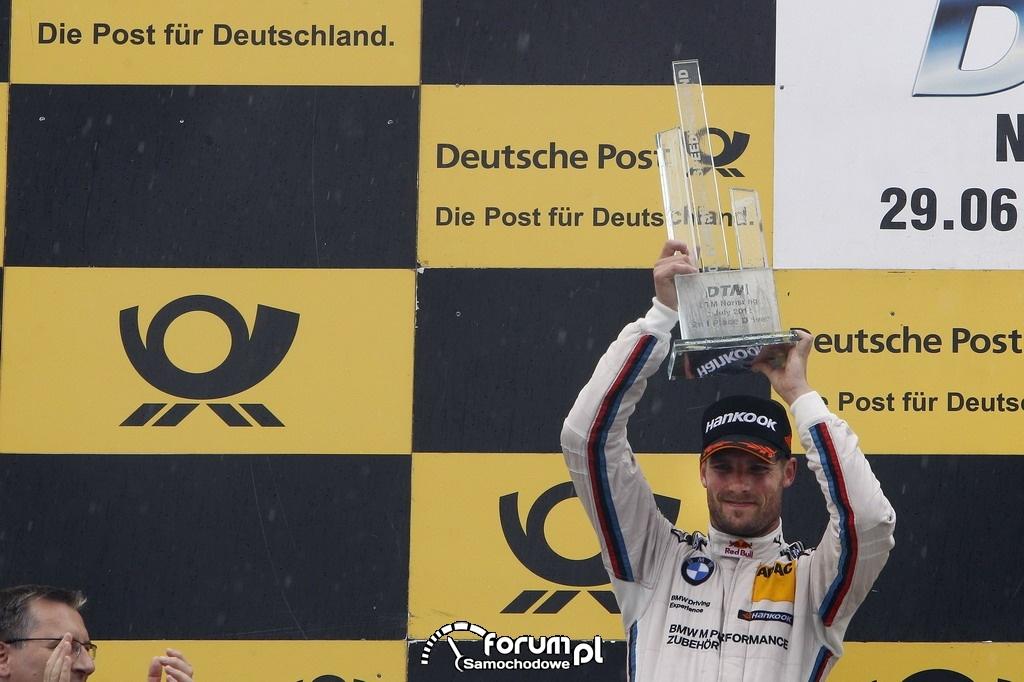 Martin Tomczyk, BMW, DTM II miejsce na torze Norisring 2012