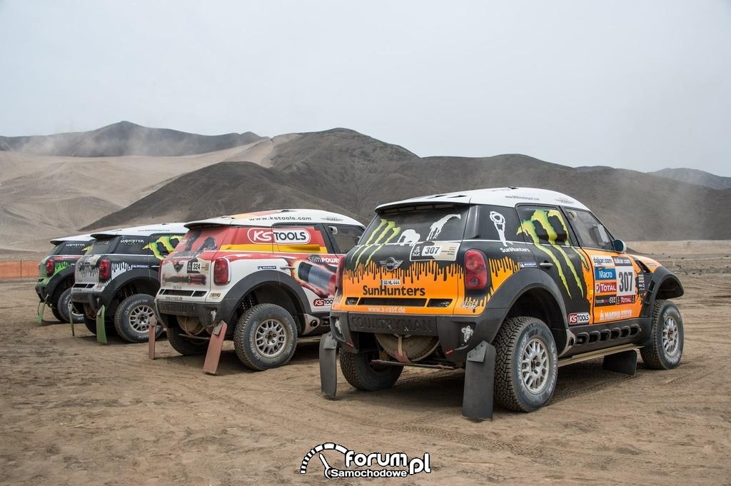 MINI ALL4 Racing Dakar 2013