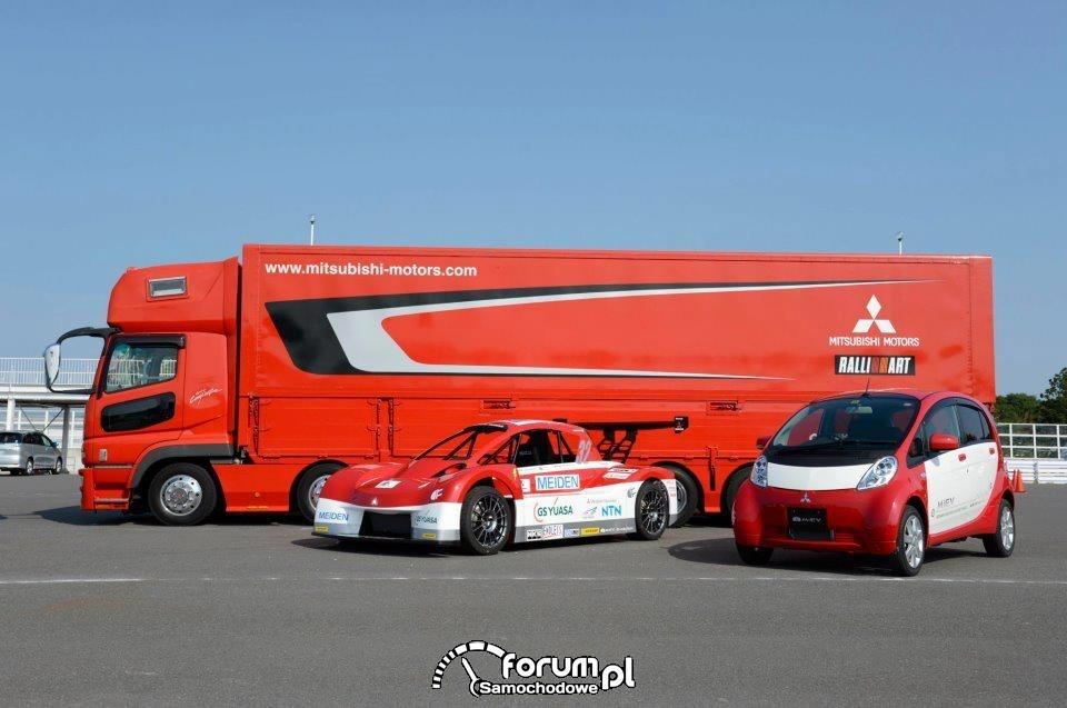 Mitsubishi i-MiEV Evolution, Mitsubishi i-MiEV, PPIHC 2012