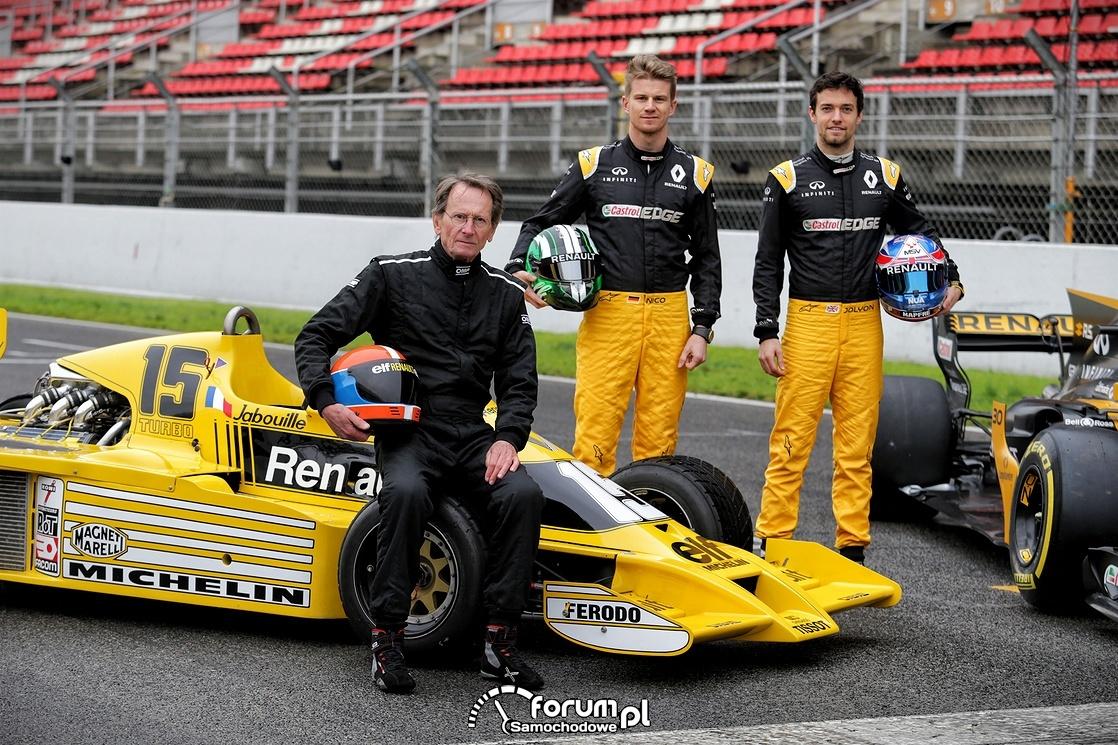 Nico HULKENBERG, JeanPierre JABOUILLE, Jolyon PALMER, Formuła 1