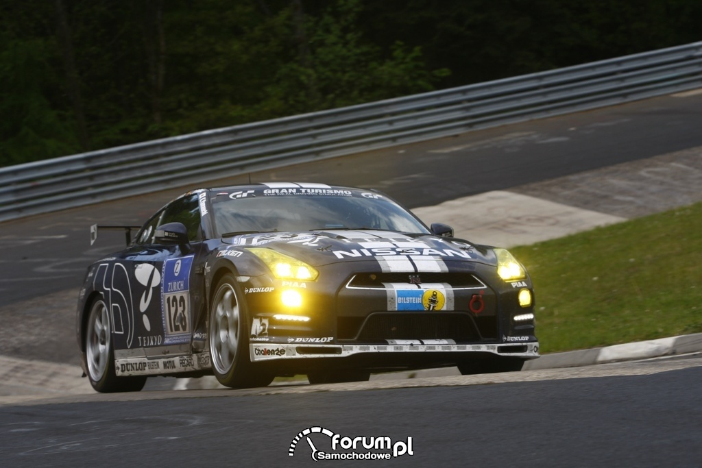 Nissan GT-R na 24-godzinnym wyścigu Nurburgring