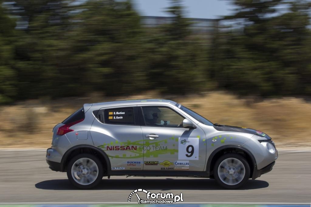 Nissan Juke - zawody ECOseries 2013, Nissan Eco Team