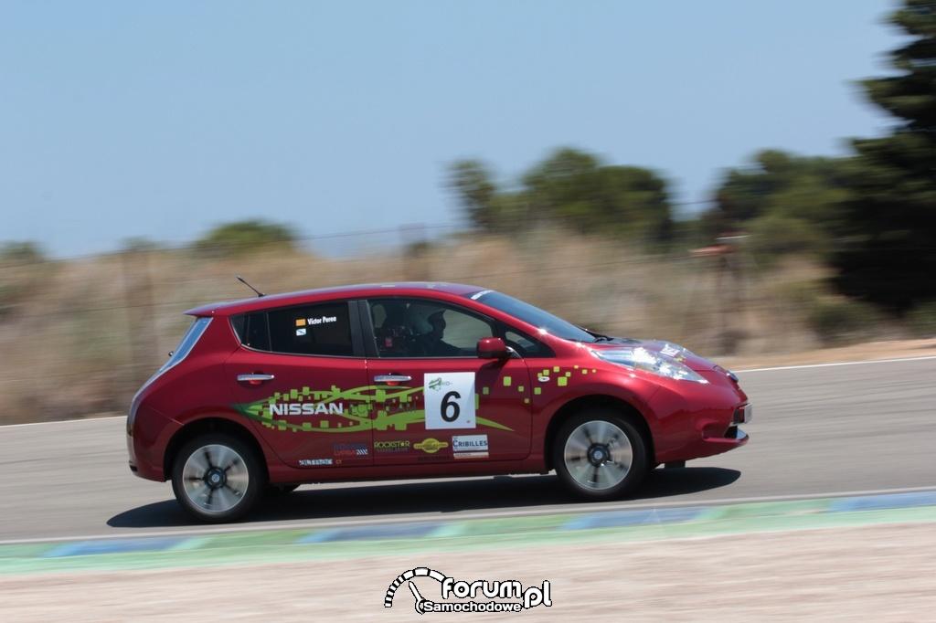 Nissan Leaf - zawody ECOseries 2013, Nissan Eco Team