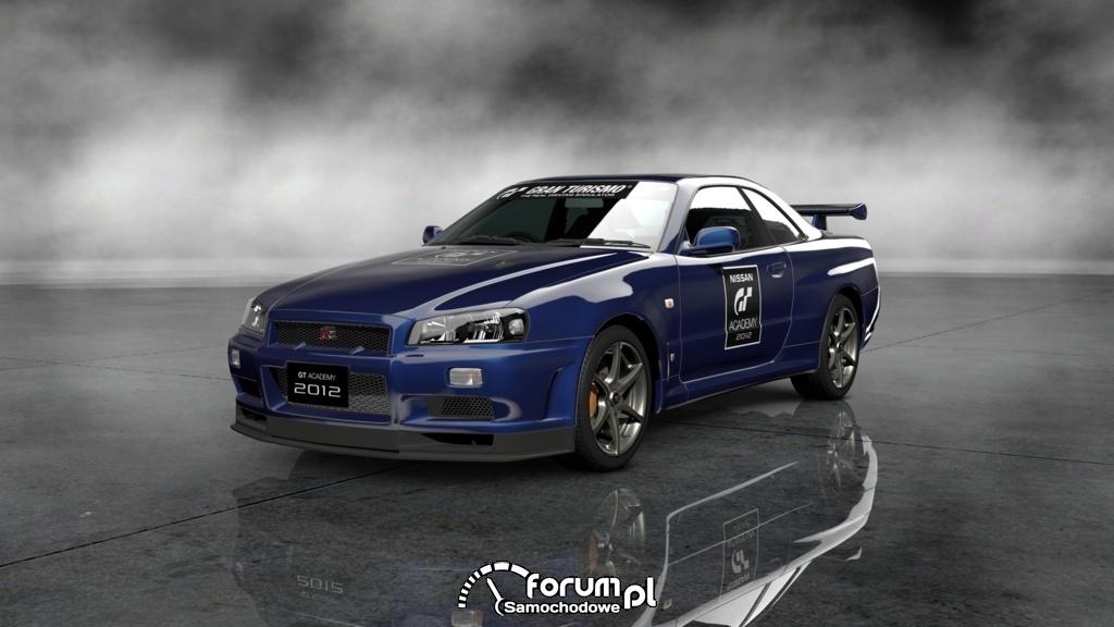 Nissan SKYLINE GT-R V·spec II Nür - GT Academy Version