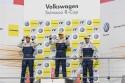 Ola Nilsson, Kasper H. Jensen, Berke Bayindir, Scirocco R Cup 2012, Hockenheimring, podium