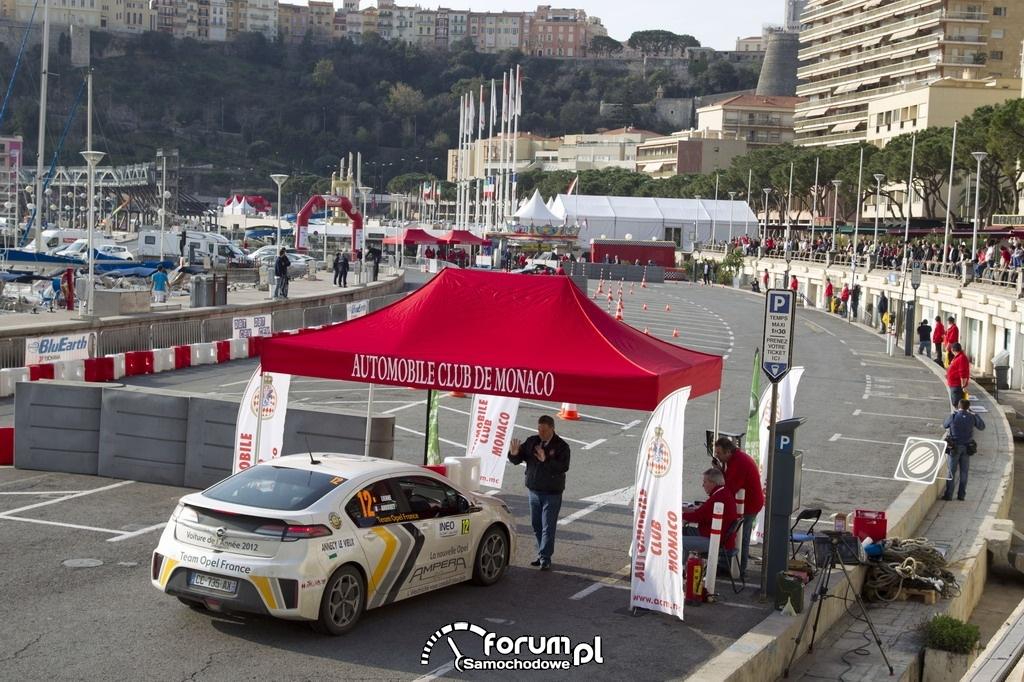 Rajd Monte Carlo samochodów elektrycznych