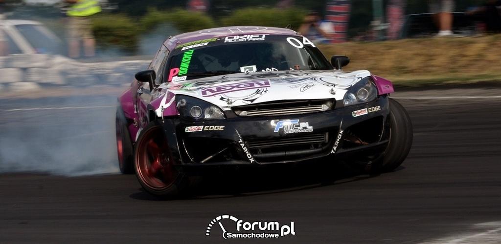Opel GT, Paweł Trela, drift