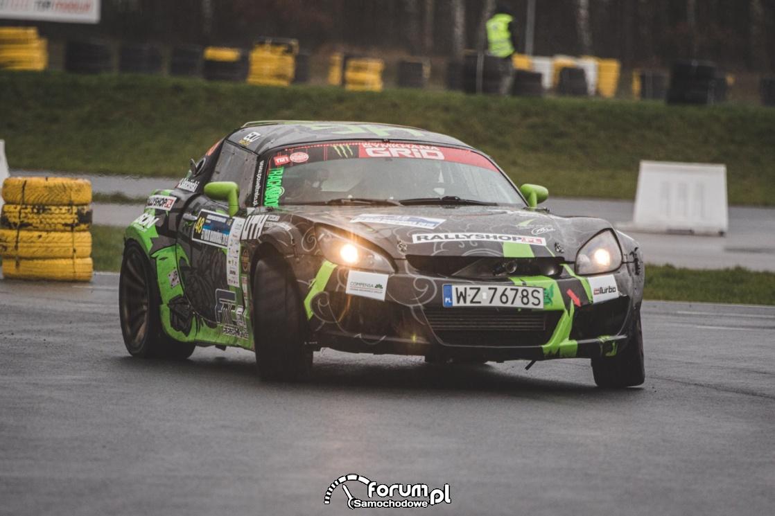 Opel GT Rajd  Barbórka, 2019, Paweł Trela