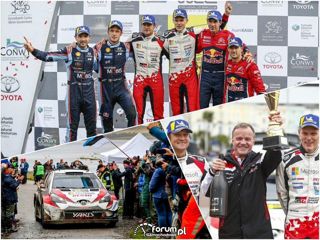 Ott Tänak - Martin Järveoja - Toyota Yaris WRC