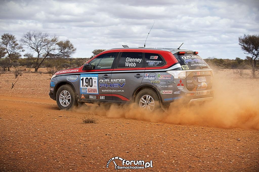 Outlander PHEV, Australasian Safari 2014, 3