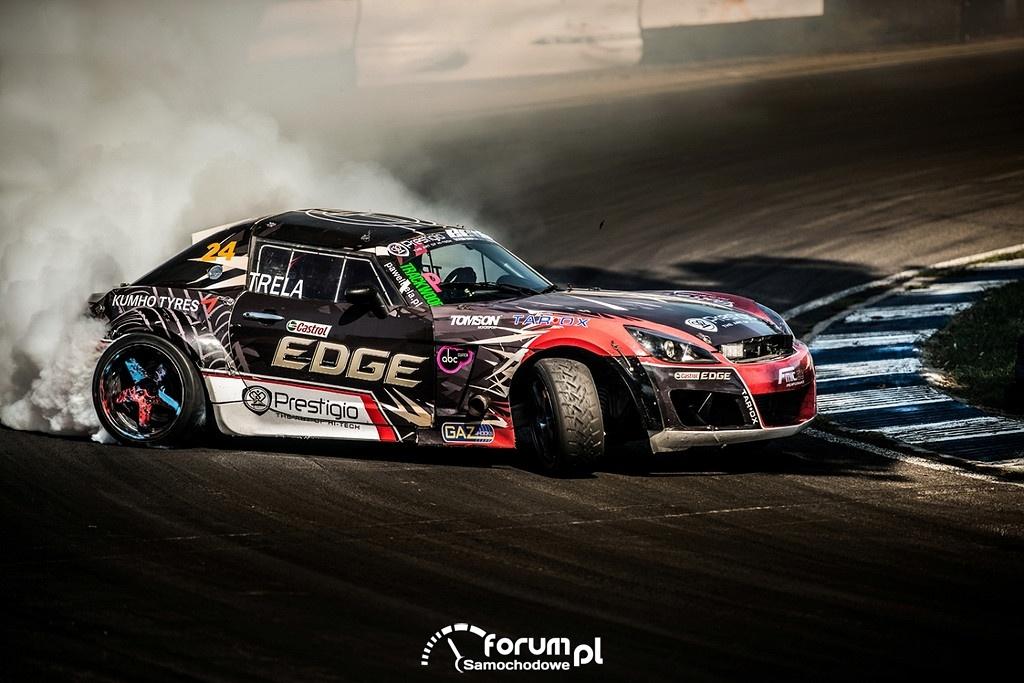 Paweł Trela na Eastern Europe Drift Championship, Węgry, Opel GT