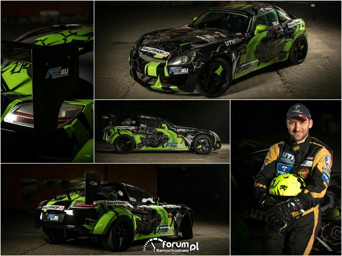 Paweł Trela, samochód do driftu, Opel GT