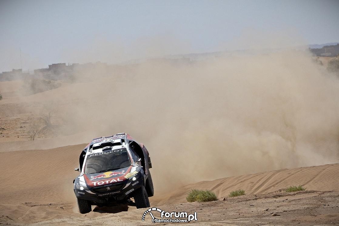 Peugeot 2008 DKR16, II etap Rajdu Maroka