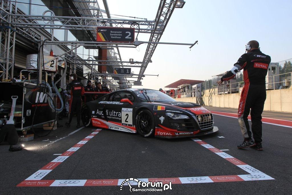 PitStop, Audi R8 LMS ultra