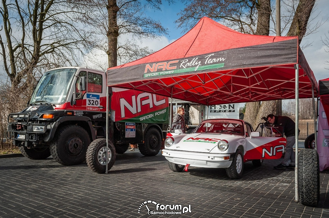 Porsche 911, NAC Rally Team
